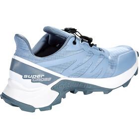 Salomon Supercross GTX Zapatillas Mujer, forever blue/white/flint stone